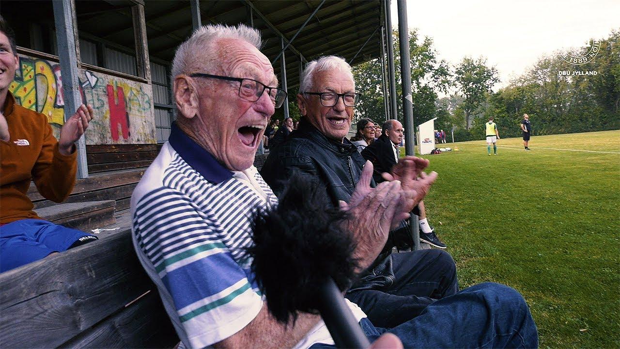 Video: 97-årig er serieholds største fan
