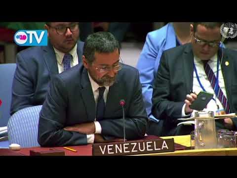 Intervención de Venezuela en sesión del Consejo de Seguridad de la ONU sobre Nicaragua