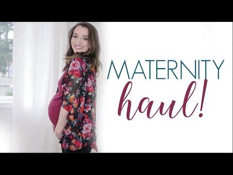MATERNITY HAUL + try on || Natalie Bennett