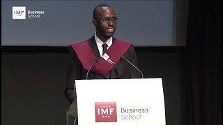 Graduación IMF – Discurso de Óscar Eduardo Ortiz