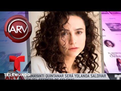 Damayanti Quintanar interpretará a Yolanda Saldivar | Al Rojo Vivo | Telemundo