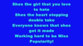 Miss Popularity - Jordan Pruitt (Lyrics)