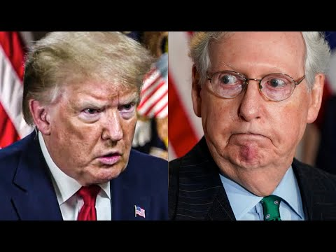 Trump Just Pissed Mitch McConnell Off BIG TIME