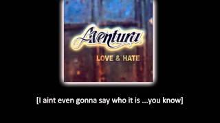 Aventura - I'm Sorry (lyric - letra)