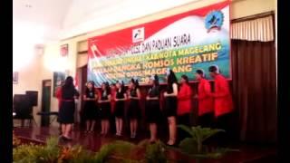 preview picture of video 'Syukur ( Lomba Paduan Suara Kab- Kota magelang 2014)'