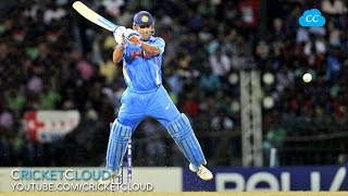 Dhoni Helicopter Shot - England Player Can