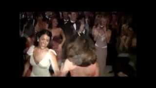 The Hora At A Jewish Wedding Reception