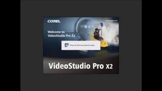 Testing Corel VideoStudio Pro X5
