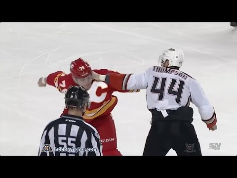 Micheal Ferland vs. Nate Thompson