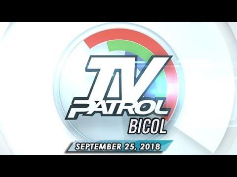 [ABS-CBN]  TV Patrol Bicol – September 25, 2018