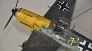 BF109-E3 in 1/32 Trumpeter build w/ aftermarket