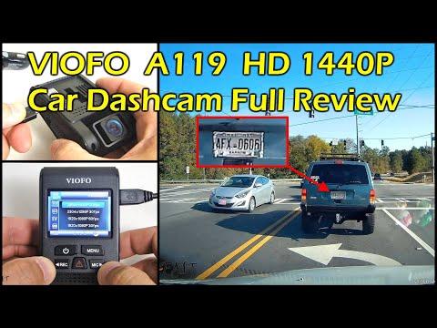 VIOFO A119 1440P Car Dash Camera DVR + Super Capacitor