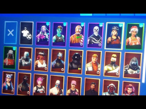 Selling Fortnite Account With Renegade Raider Purple Skull Trooper