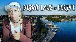 DRONE LAWS in EUROPE: Where and how can you legally fly? (Germany, Austria, Malta & Sweden)