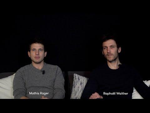 Mathis Rager et Raphaël Walther