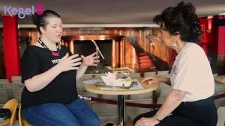 Elaine Miller (Gusset Grippers) Interview at the 2018 Edinburgh Fringe Festival | Kegel8