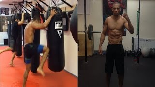 Edson Barboza MMA Training