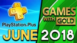 PlayStation Plus VS Xbox Games With Gold - JUNE 2018