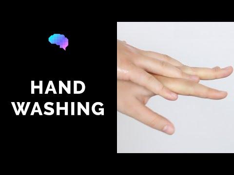 Jak myć ręce alkoholowym żelem?