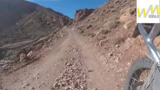 Off road on GS in Morocco
