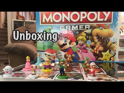 Monopoly Gamer (With Mario) Unboxing!