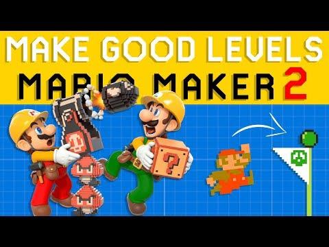Basic Super Mario Maker 2 Level Design - How to Make GOOD Levels!