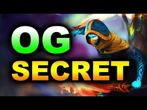 SECRET vs OG - GODLIKE NON STOP! - MDL DISNEYLAND PARIS MAJOR DOTA 2