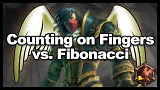 Counting on Fingers vs Fibonacci