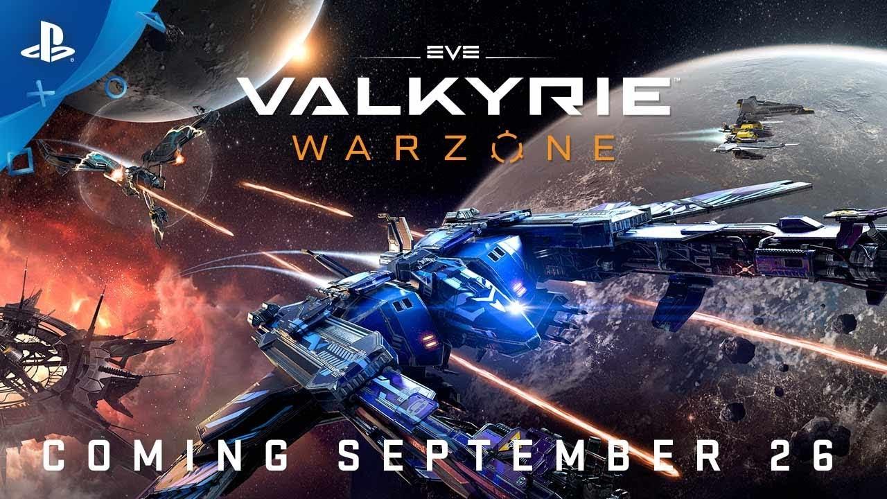 Anunciando EVE: Valkyrie – Warzone. Nuevas Naves, Nuevos Mapas, Nuevo Juego.