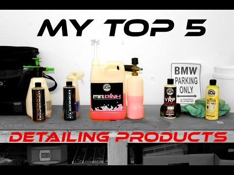 Top 5 Car Detailing Products (Chemical Guys – Exterior)