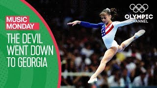 Dominique Moceanu's Floor Routine with Devil Went Down to Georgia | Music Monday