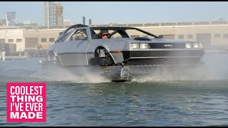 Homemade Delorean Hovercraft - COOLEST THING I'VE EVER MADE: EP1