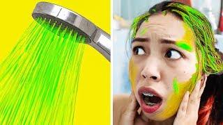 จ้าว โดนแกล้ง!! เกิดอะไรขึ้นกับฝักบัวในห้องน้ำ funny pranks  ❤ JKiz