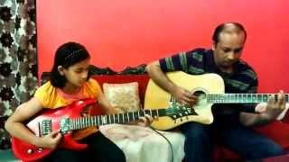 Pal Pal Har Pal on Guitar - mnm8