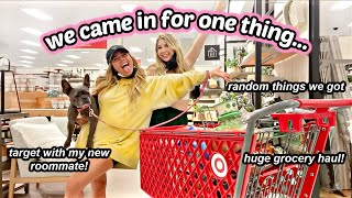 OBSESSED WITH TARGET! Target with Adelaine & Bri + Grocery Haul!