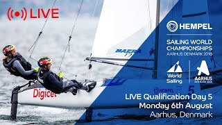 LIVE Sailing | Hempel Sailing World Championships | Qualification Day 5