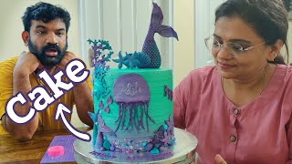 YouTube നോക്കി Cake  ഉണ്ടാക്കാൻ പഠിച്ചു , ഉണ്ടാക്കുന്ന കേക്ക്  കണ്ടാൽ   | Home Cake Maker in Kochi