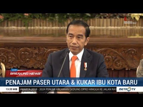 Hari Bersejarah! Jokowi: Ibu Kota Baru RI Pindah ke Penajam Paser Utara & Kutai Kartanegara Kaltim