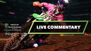Last Place Start - Monster Energy Supercross The Game - Live Commentary