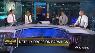 Netflix is falling on earnings, is it a warning for the rest of tech?