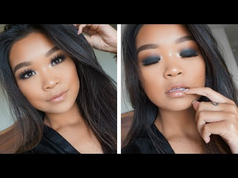 BLACK SMOKEY EYE ON MONOLIDS!