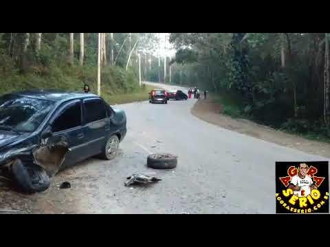 Acidente da Estrada Marta Maria de Jesus de Juquitiba a Estrada do Soares