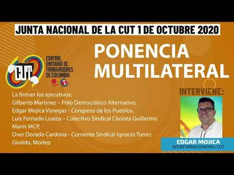 Ponencia varios sectores [multilateral] en la Junta Nacional CUT || 1 de octubre de 2020
