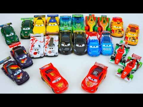 Disney World Grand Prix Carnival Cup Racers Cars Full Collection! Day13