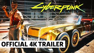 Cyberpunk 2077 — Rides of the Dark Future | Official Vehicle Preview (4K)