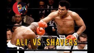 Muhammad Ali Vs Earnie Shavers #Legendary Night# HD