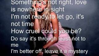 Tell Me Lies - Ashley Tisdale Lyrics