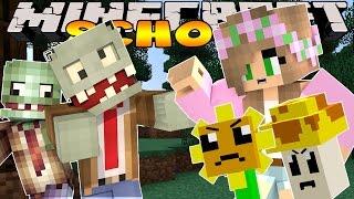 Minecraft School: Little Kelly - PLANTS VS ZOMBIES!