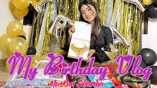 MY SUPRISING BIRTHDAY VLOG | MUSKAN SHARMA - Download this Video in MP3, M4A, WEBM, MP4, 3GP