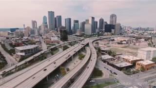 Dallas Texas Downtown Deep Ellum 4K Drone Aerial Footage - DJI Phantom 4